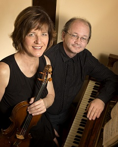 Jeri Jorgensen, violin, and Cullan Bryant, piano