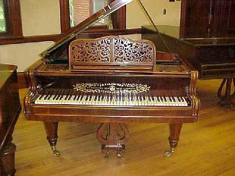 1868 Streicher Frederick Historical Piano Collection