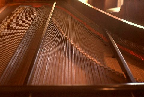 1868 Streicher in the Frederick Historic Piano Collection