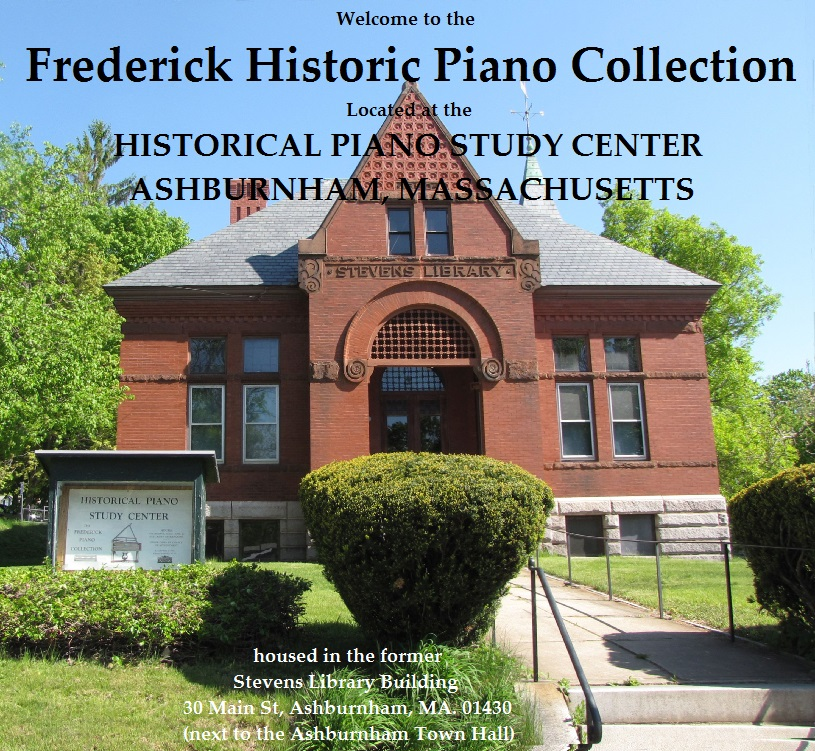 Historical Piano Study Center, Ashburnham, Massachusetts